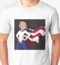 Hillary Clinton American superhero T-Shirt