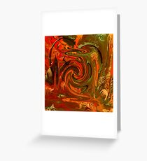 Abstract- 20  Art + Products Design  Greeting Card