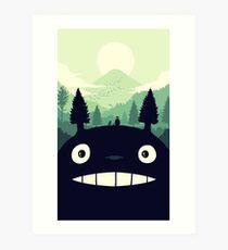 totoro 1 Art Print
