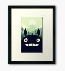 totoro 1 Framed Print