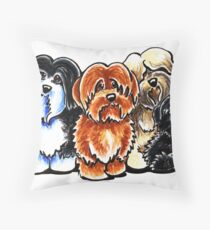 Four Havanese Throw Pillow