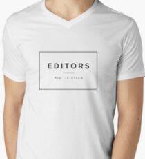 EDITORS // No5 in dream Men's V-Neck T-Shirt