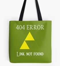 404 - Link not found (B) Tote Bag