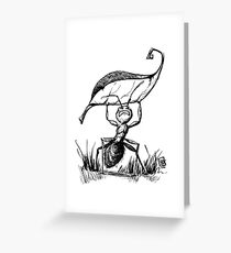 One Strong Ant Greeting Card