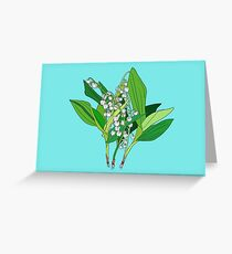 Lilly of the Valley Greeting Card