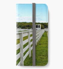 fence line iPhone Wallet/Case/Skin