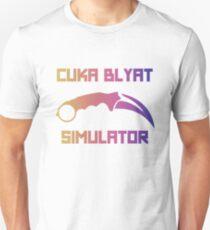 Cyka Blyat Simulator - fade T-Shirt