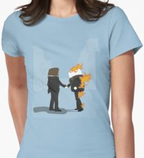 Wish You Were Here Women's Fitted T-Shirt