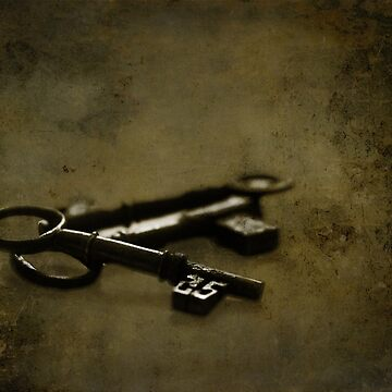 Old keys to the scary room by pixel8it