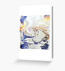 Abstract- 21  Art + Products Design  Greeting Card