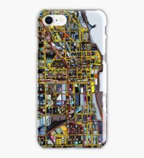 Abstract Map of Chicago IL iPhone Case/Skin