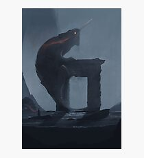 Lizard... Photographic Print