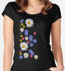 Flowers, wildflowers Women's Fitted Scoop T-Shirt