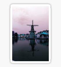Retro Windmill Sticker