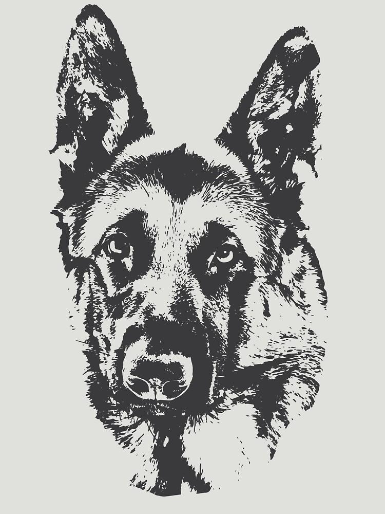 German Shepherd by Hujer