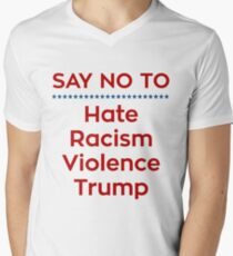 Say No To Trump Men's V-Neck T-Shirt