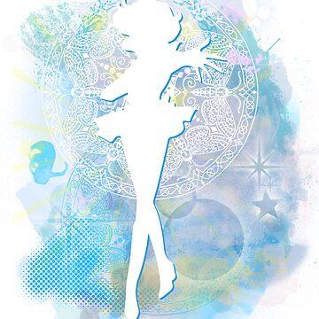 Sailor Mercury by rachelGatlin