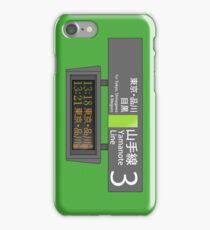 Yamanote Line Timetable スマートフォンケース iPhone Case/Skin