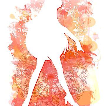Sailor Mars by rachelGatlin
