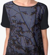 Once Upon A Midnight Dreary Women's Chiffon Top