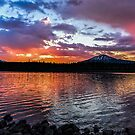 Elk Lake 6 by Richard Bozarth