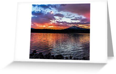 Elk Lake 6 by Richard Bozarth