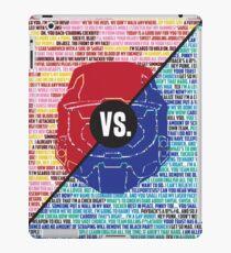 Red Vs. Blue iPad Case/Skin
