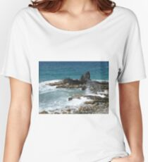 Caribbean coastal spray Women's Relaxed Fit T-Shirt
