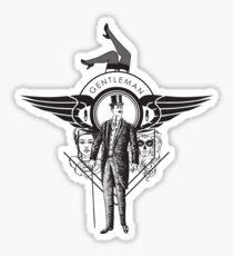 Gentleman Sticker