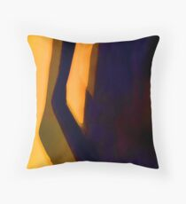 Morning Abstracted Throw Pillow