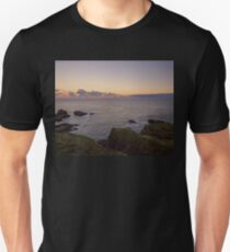 Sunset on Cruden Bay, Slains Castle - North East coast of Aberdeenshire, Scotland T-Shirt