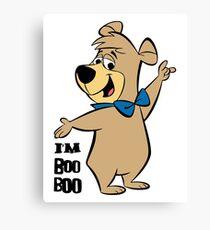 Bobo Bear Yogi Bear Canvas Print