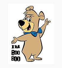 Bobo Bear Yogi Bear Photographic Print