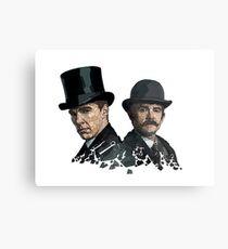 Sherlock And Watson  Metal Print