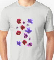 Flowers, violets T-Shirt