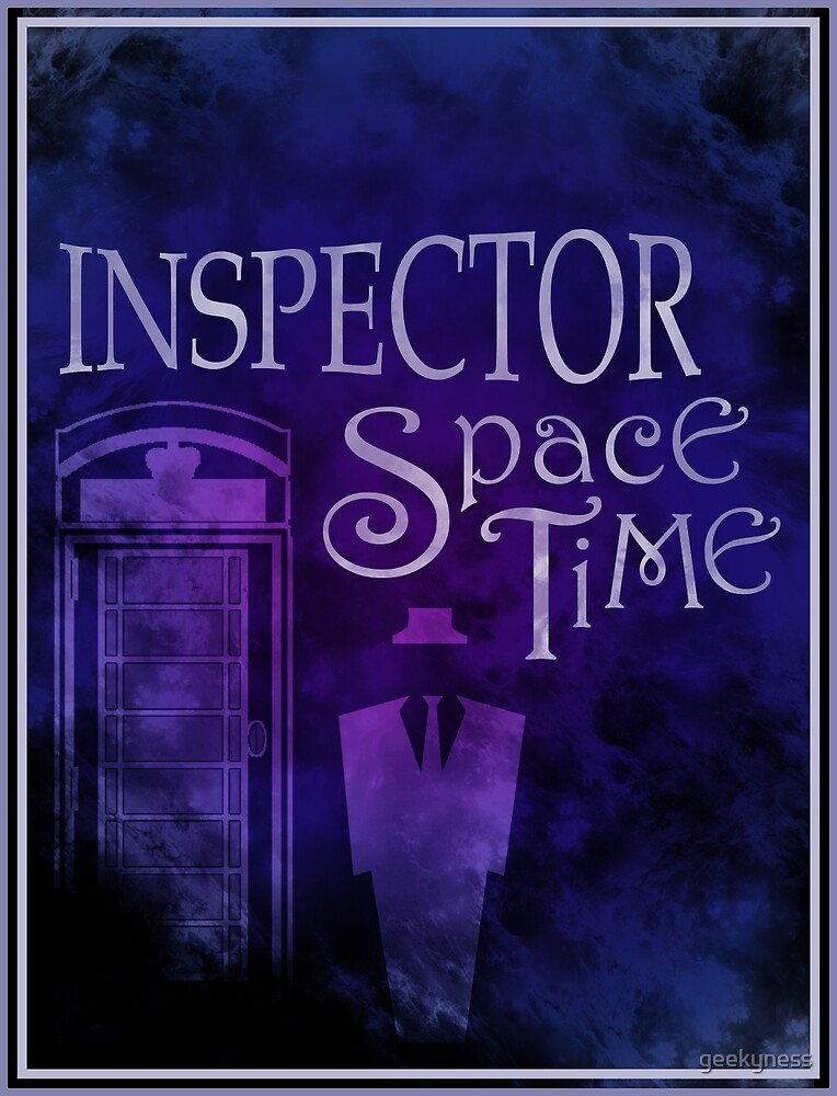 Inspector Spacetime by geekyness