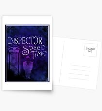 Inspector Spacetime Postcards