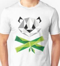 Panda and Crossbamboos Unisex T-Shirt