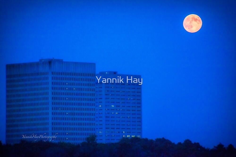 Super Moon 2 - Ottawa - Ontario by Yannik Hay