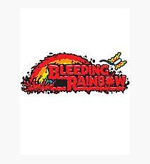 Bleeding Rainbow Photographic Print