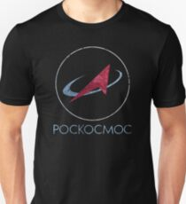 POCKOCKMOC Russian Space Agency Unisex T-Shirt