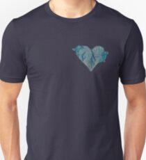 Blue Ink Heart T-Shirt