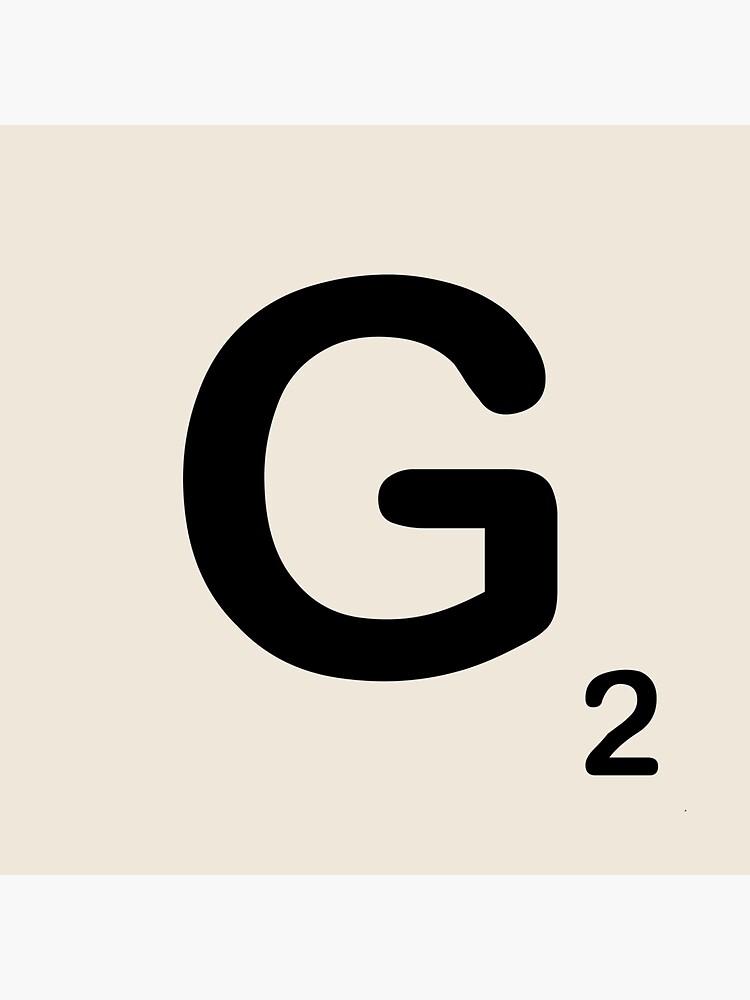 Scrabble Tile G von dystopic