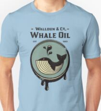 Walldun & Co Whale Oil Unisex T-Shirt