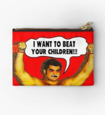 Funny Sayings - I Want to Beat Your Children Studio Pouch