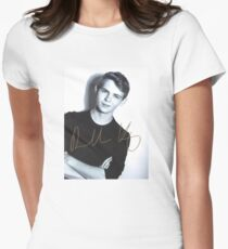 Robbie Kay autograph Women's Fitted T-Shirt