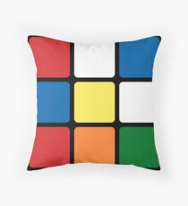 Rubik's Cube Pillow Throw Pillow