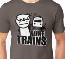I Like Trains - asdfmovie Unisex T-Shirt
