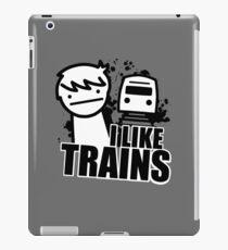 I Like Trains - asdfmovie iPad Case/Skin