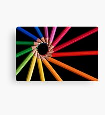 Colour Wheel Canvas Print